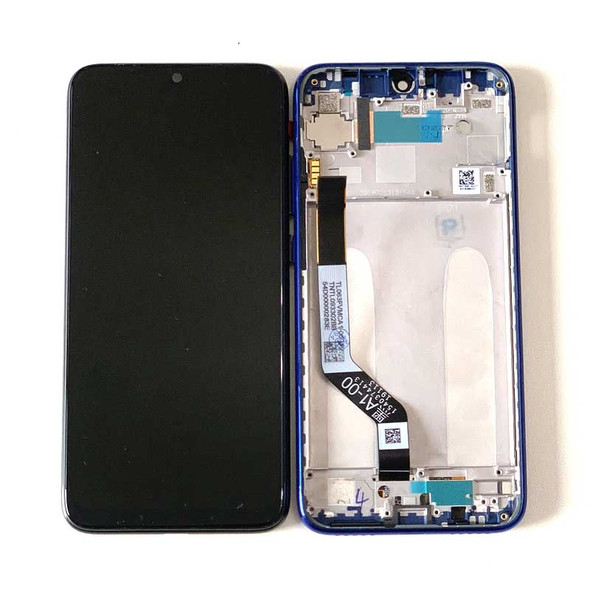 Xiaomi Redmi Note 7 Note7 Pro LCD Screen and Digitizer Assembly with Frame Blue | Parts4Repair.com
