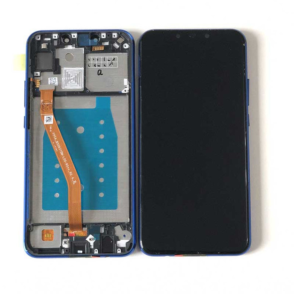 Huawei Nova 3i LCD Screen and Digitizer Assembly with Frame Blue | Parts4Repair.com