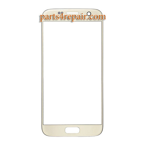Generic Front Glass for Samsung Galaxy S7 All Versions Gold   Parts4Repair.com