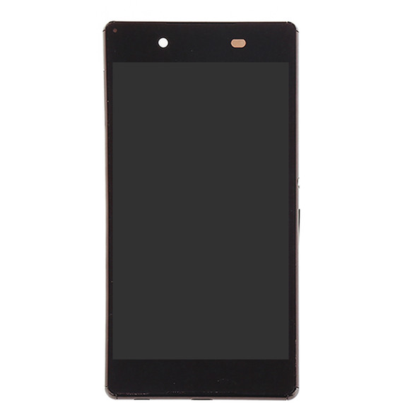 Sony Xperia Z4 Dual SIM Screen Assembly with Frame Black | Parts4Repair.com