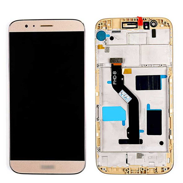 Complete Screen Assembly with Frame for Huawei G8 Gold | Parts4Repair.com
