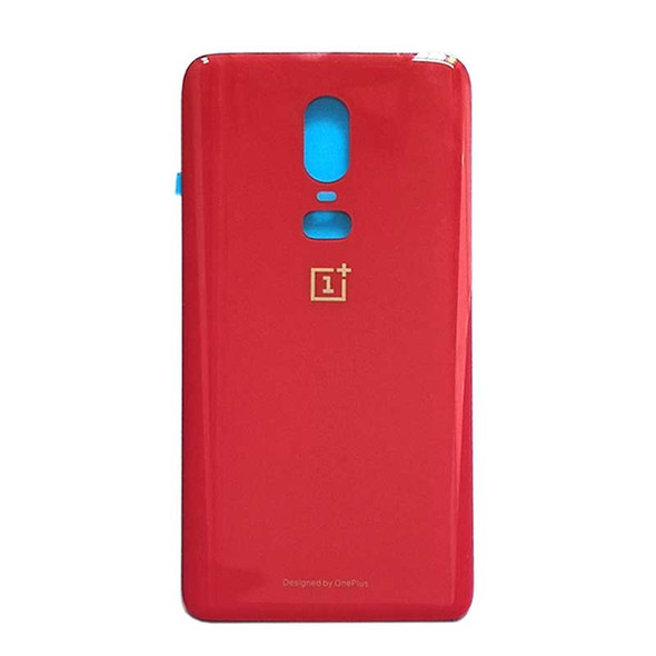 Generic Back Housing Cover for Oneplus 6 Red | Parts4Repair.com