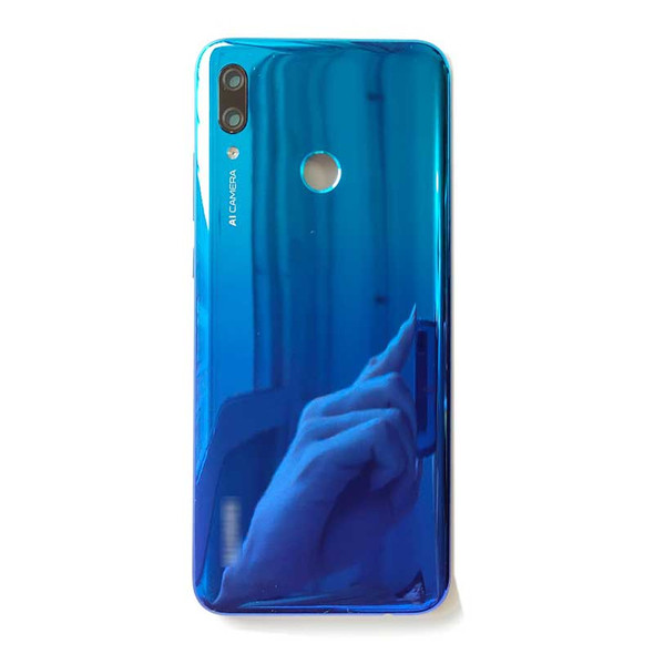 Huawei P Smart 2019 Back Housing with Side Keys Blue | Parts4Repair.com