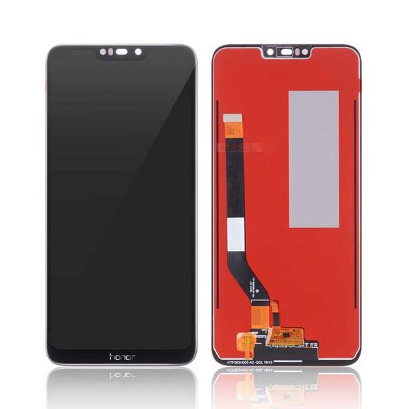 Honor 8C LCD Screen Digitizer Assembly Black   Parts4Repair.com