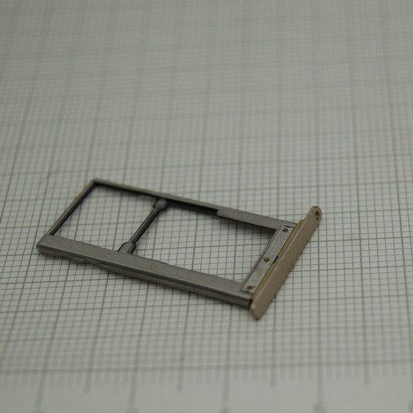 BQ Aquaris U SIM Tray Gold | Parts4Repair.com