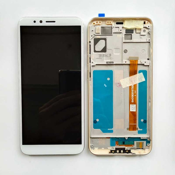 Lenovo K5 Play LCD Screen Digitizer Assembly with Frame Gold   Parts4Repair.com