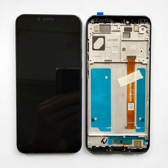 Lenovo K5 Play LCD Screen Digitizer Assembly with Frame Black | Parts4Repair.com