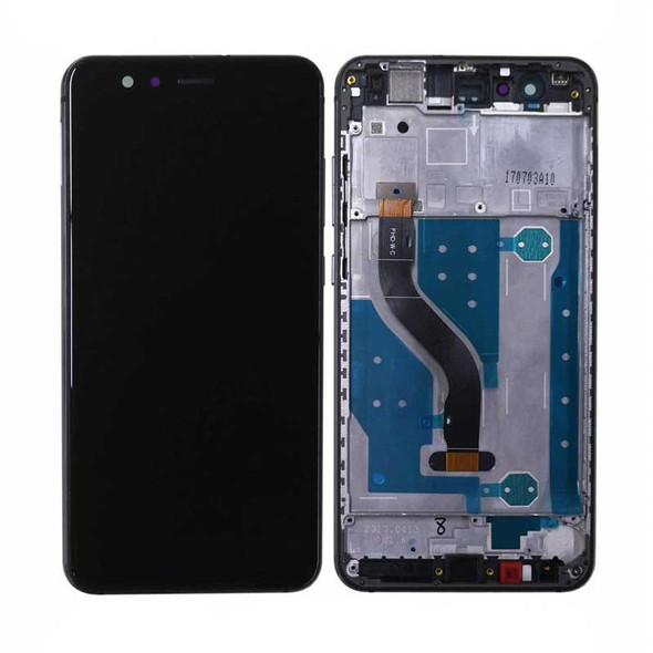 Huawei P10 Lite Screen Assembly with Frame Black | Parts4Repair.com