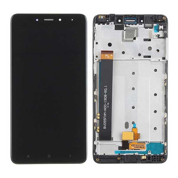 Complete Screen Assembly with Frame for Xiaomi Redmi Note 4 MTK/ 4X 4GB MTK  | Parts4Repair.com