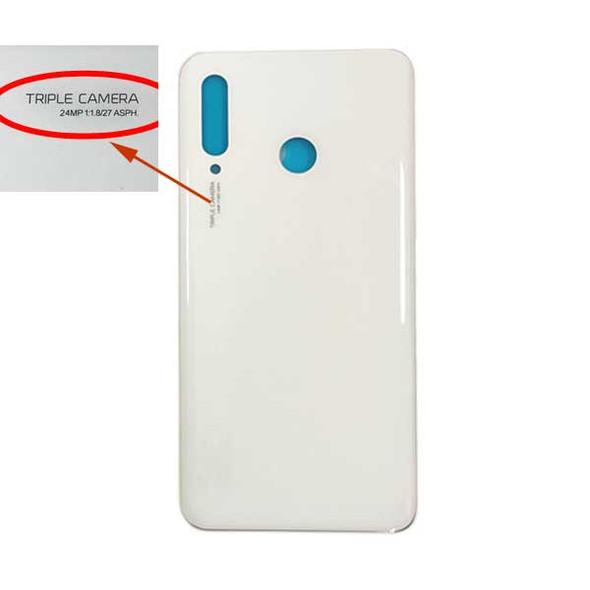 Huawei P30 Lite Nova 4e Back Glass with Adhesive (24MP) White | Parts4Repair.com