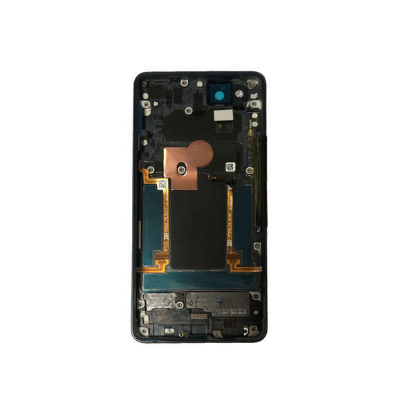 Google Pixel 2 Back Housing Cover with Side Keys Black | Parts4Repair.com