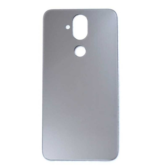 Nokia 8.1 X7 Back Glass with Adhesive Silver | Parts4Repair.com