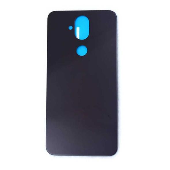 Nokia 8.1 X7 Back Glass with Adhesive Dark Blue | Parts4Repair.com