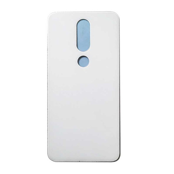 Nokia 5.1 Plus X5 Back Glass with Adhesive White | Parts4Repair.com