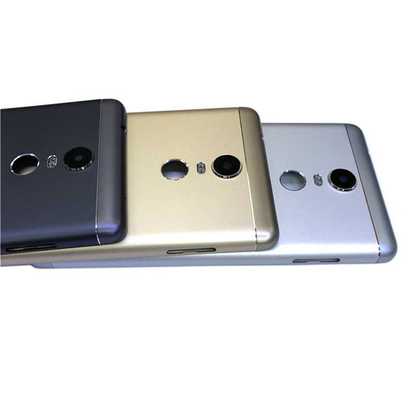 Lenovo K6 Note Back Housing Cover witout Side Keys Gold | Parts4Repair.com