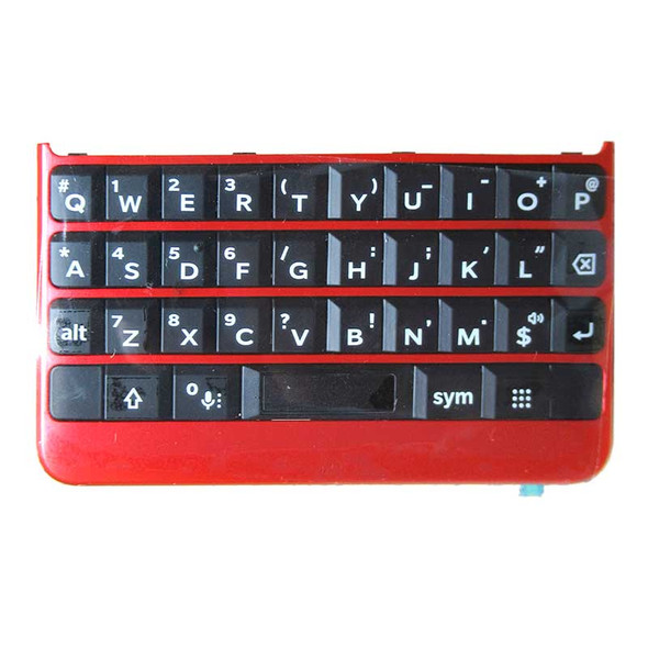 BlackBerry Key2 Keyboard Replacement Red | Parts4Repair.om