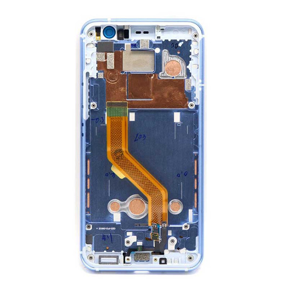 HTC U11 Screen Assembly with Frame Amazing Silver | Parts4Repair.com