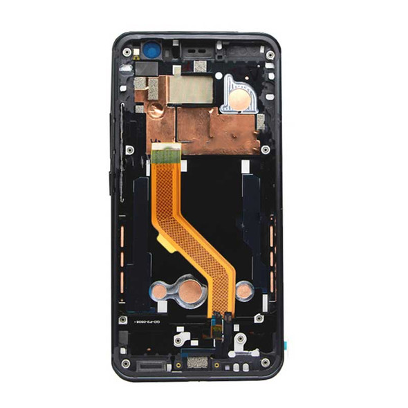 Complete Screen Assembly with Frame for HTC U11 Black | Parts4Repair.com