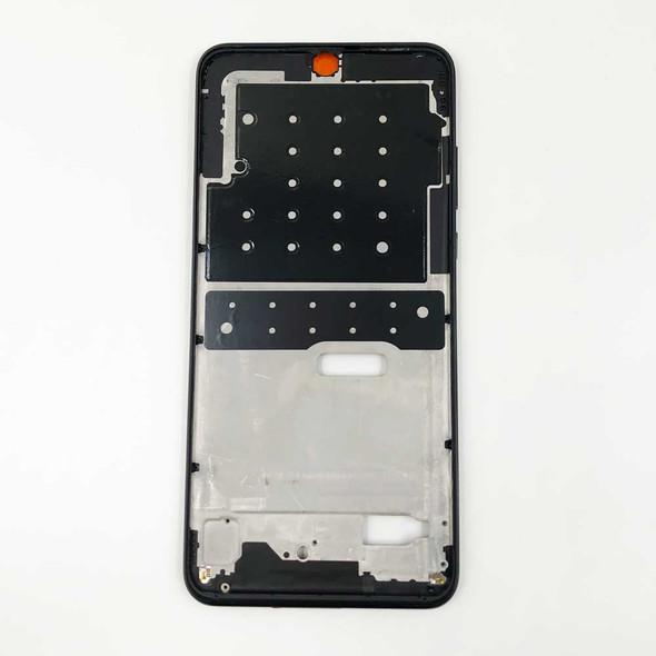 Huawei P30 Lite Nova 4e Middle Frame with Side Keys Black | Parts4Repair.com