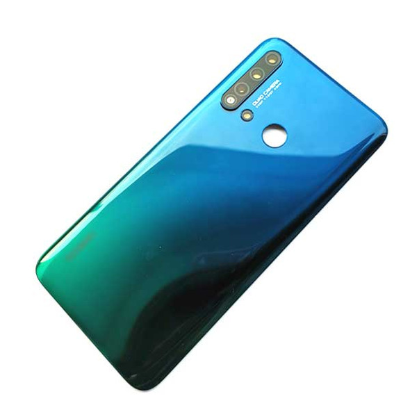 Huawei Nova 5i Back Housing with Camera Lens Gradient Blue | Parts4Repair.com