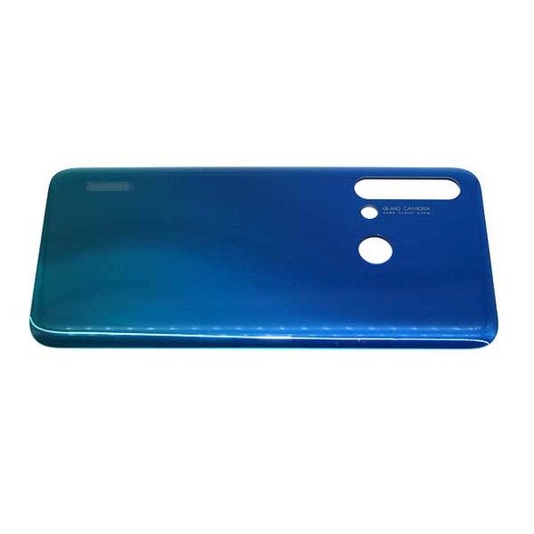 Huawei Nova 5i Back Housing without Camera Lens Gradient Blue | Parts4Repair.com