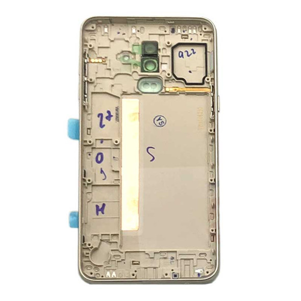 Samsung Galaxy J8 J810 Back Housing Cover Gold | Parts4Repair.com
