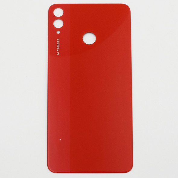 Generic Back Glass for Huawei Honor 8X Red | Parts4Repair.com
