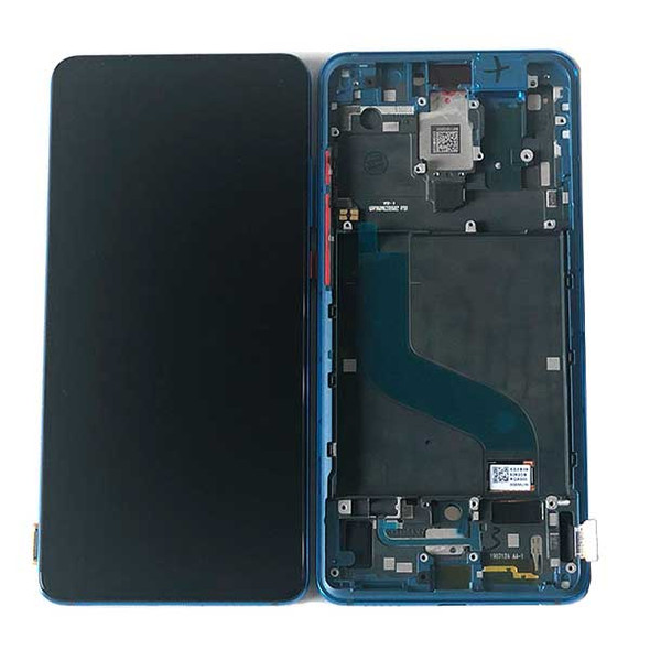 Xiaomi Redmi K20 K20 Pro Mi 9T 9T Pro LCD Screen Digitizer Assembly with Frame Blue | Parts4Repair.com