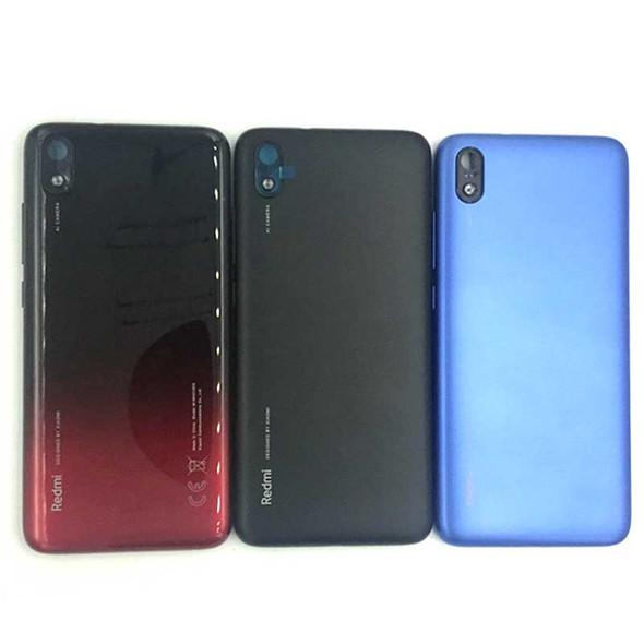 Xiaomi Redmi 7A Back Housing with Side Keys Blue | Parts4Repair.com