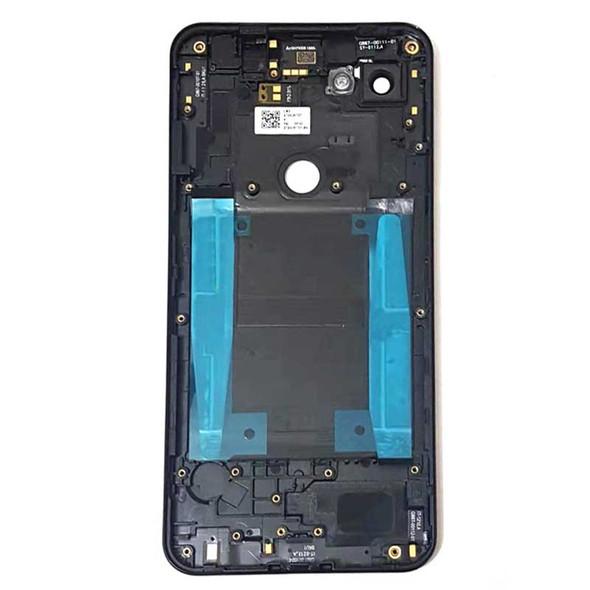 Google Pixel 3A XL Back Housing Cover Black | Parts4Repair.com