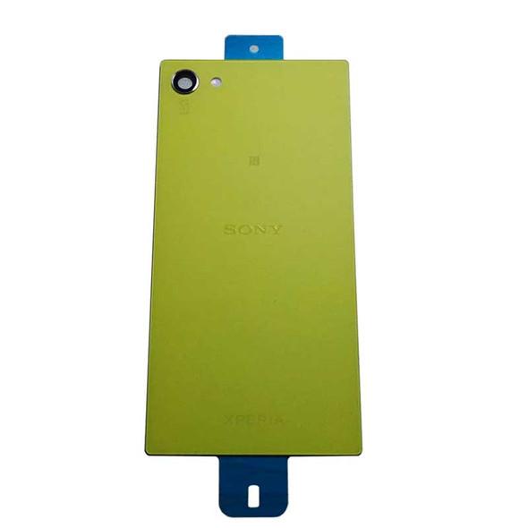 Sony Xperia Z5 mini Back Glass Yellow | Parts4Repair.com