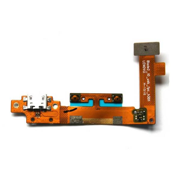 Lenovo Yoga Tablet 2 10.1 1051F 1050 Charging Port Flex Cable | Parts4Repair.com