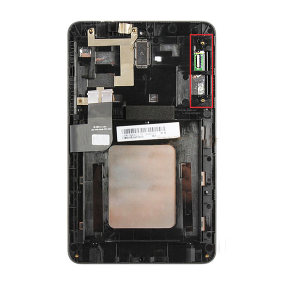 Complete Screen Assembly with frame for Asus Memo Pad HD7 ME173X