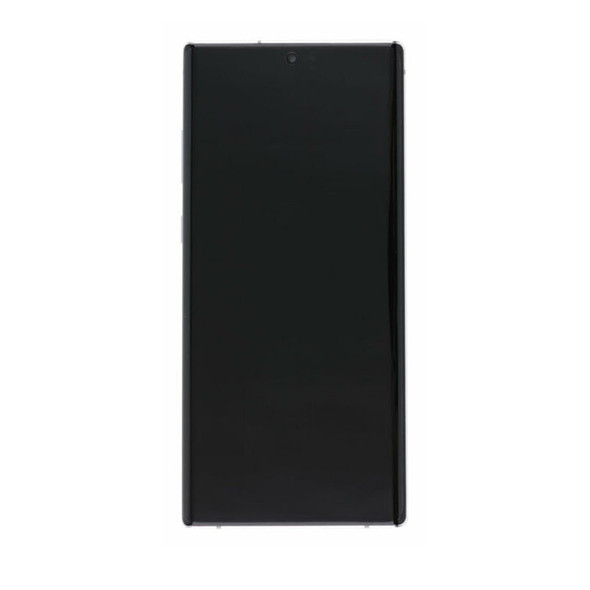 Samsung Galaxy Note 10 LCD Screen Digitizer Assembly with Frame White