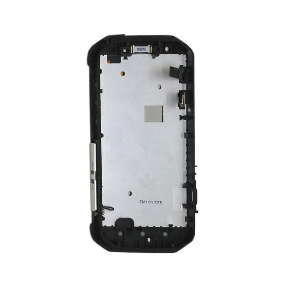 CAT S40 LCD Screen Digitizer Assembly with Bezel Black from Parts4Repair.com