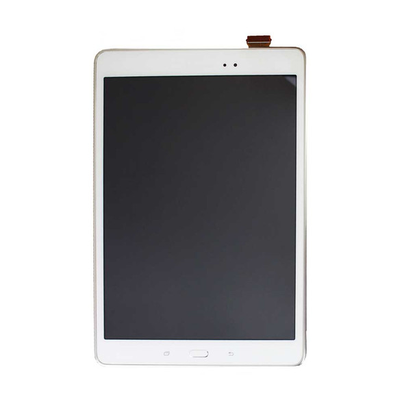 Samsung Galaxy Tab A 9.7 T555 LCD Screen Digitizer Assembly with Frame White | Parts4Repair.com