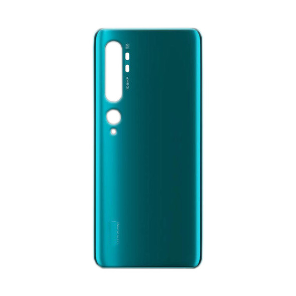 Xiaomi Mi Note 10 Back Glass Cover Aurora Green from Parts4Repair.com