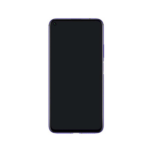 Huawei Nova 5T Display Assembly with Frame Purple from parts4repair.com