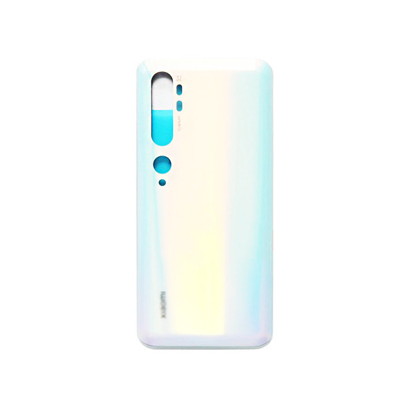 Xiaomi Mi Note 10 Back Glass Cover Glacier White | Parts4Repair.com