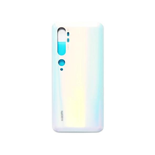 Xiaomi Mi Note 10 Back Glass Cover Glacier White | Parts4Repair.com