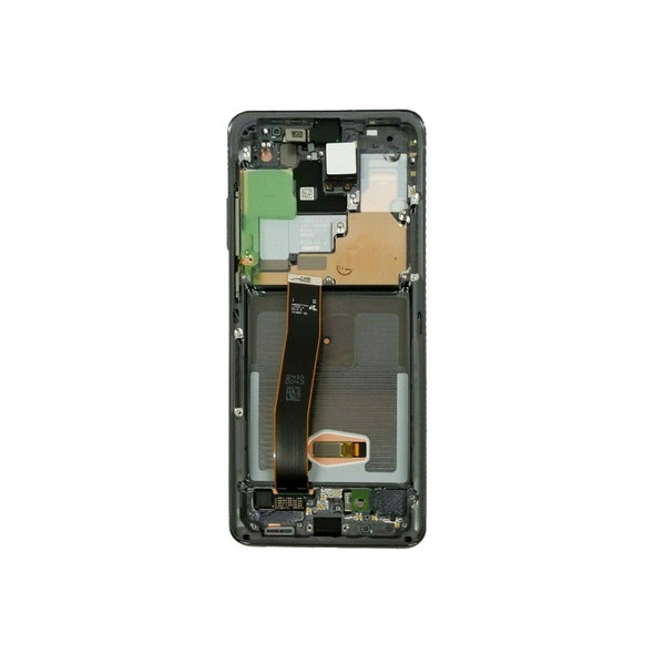LCD Screen Assembly with Frame for Samsung Galaxy S20 Ultra Gray | PartsRepair.com