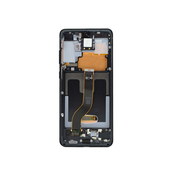 LCD Display with Frame for Samsung Galaxy S20+ G985 Black | Parts4Repair.com