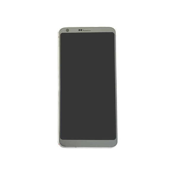 Complete Screen Assembly with Frame for LG G6 H870-Platinum (for Europe)