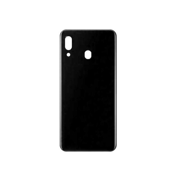 Samsung Galaxy A20 Back Cover with Adhesive  Black | Parts4Repair.com