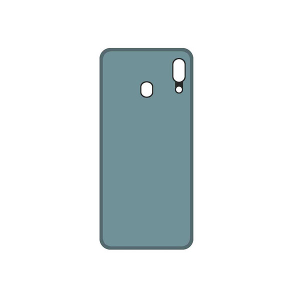 Samsung Galaxy A20 Back Cover with Adhesive White | Parts4Repair.com