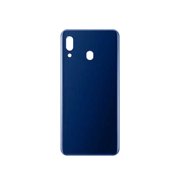Samsung Galaxy A20 Back Cover with Adhesive Blue | Parts4Repair.com