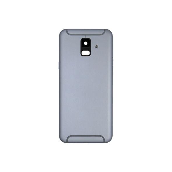 Samsung Galaxy A6 2018 Back Housing Cover with Camera Lens Gray | Parts4Repair.com
