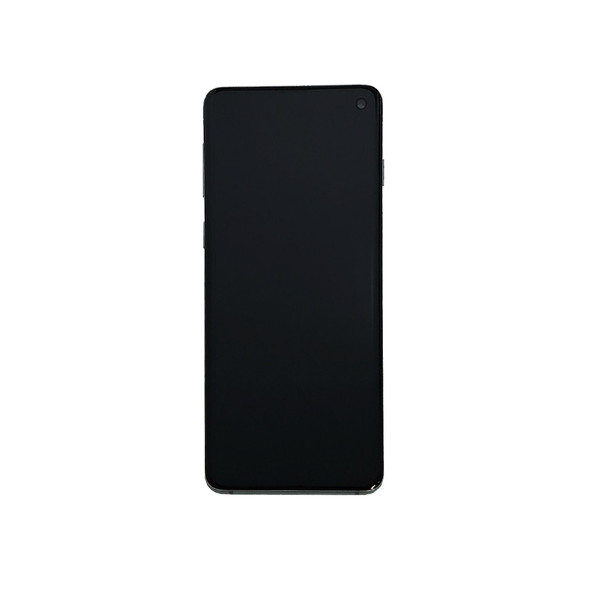 Samsung Galaxy S10 LCD Screen Digitizer Assembly with Frame White | Parts4Repair.com