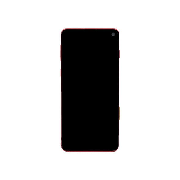 Samsung Galaxy S10 LCD Screen Digitizer Assembly with Frame Red | Parts4Repair.com