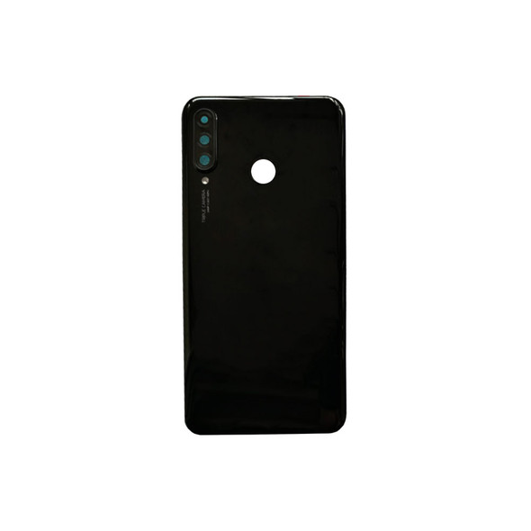 Huawei P30 Lite Nova 4e Back Glass with Camera Lens Black | Parts4Repair.com